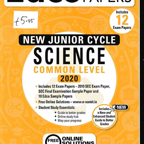 Edco New Junior Cycle Science Common Level 2020