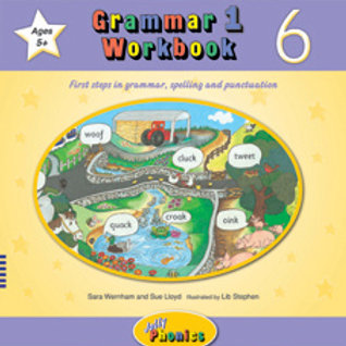 Jolly Grammar 1Workbook 6