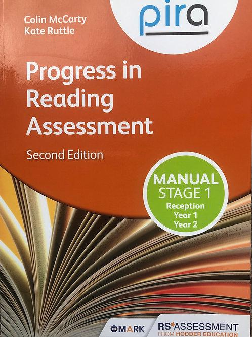 Pira Progress in Reading Assessment