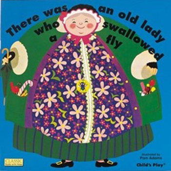 There was an Old Lady who Swallowed a Fly (Big Book)