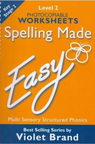 Spelling Made Easy Level 2 Text Book