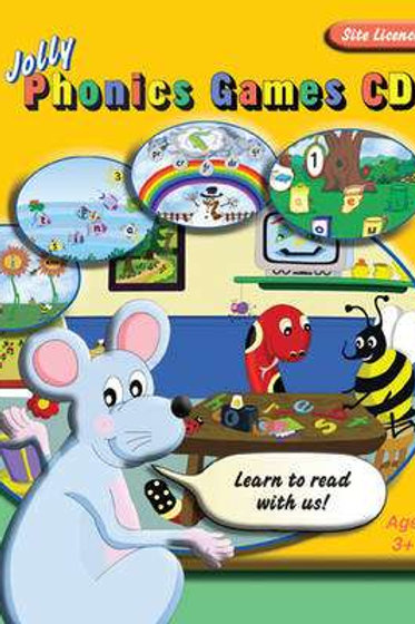 Jolly Phonics Games CD Site Licence