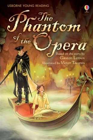 Usborne Readers: Phantom of the Opera 6pk