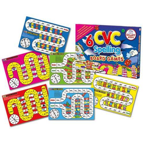 6 CVC Board Games