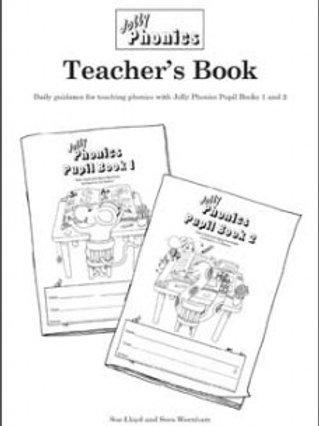 Jolly Phonics Teacher's Guide 1&2 black and white