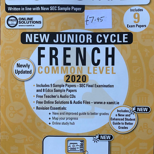 Edco New Junior Cycle French 2020 (Common Level)