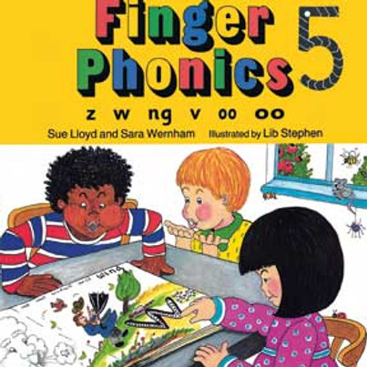 Jolly Phonics Finger Phonics 5