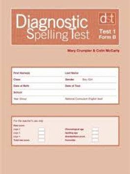 Diagnostic Spelling Test (Hodder) Levels 1-3 A & B