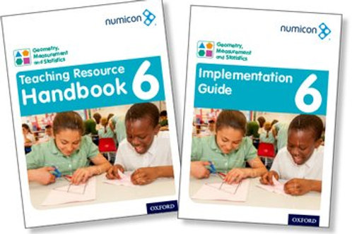 Numicon Geometry, Measurement & Statistics 6 Teaching pack