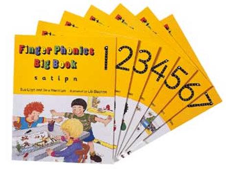 Jolly Phonics Finger Phonics Big Books 1-7