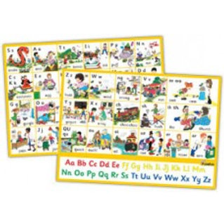 NEW Jolly Phonics Letter Sounds Wall Chart