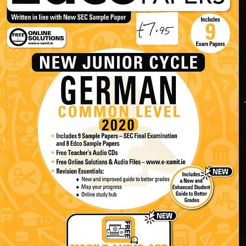 Edco New Junior Cycle German Common Level 2020