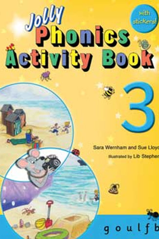 Jolly Phonics Activity Book 3