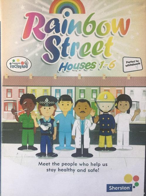 Sherston Rainbow Street Houses 1-6