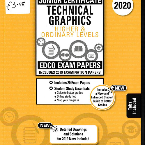 Edco New Junior Certificate Technical Graphics (Higher & Ordinary Levels) 2020