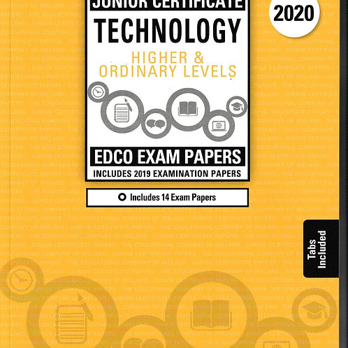 Edco New Junior Certificate Technology (Higher and Ordinary Levels) 2020
