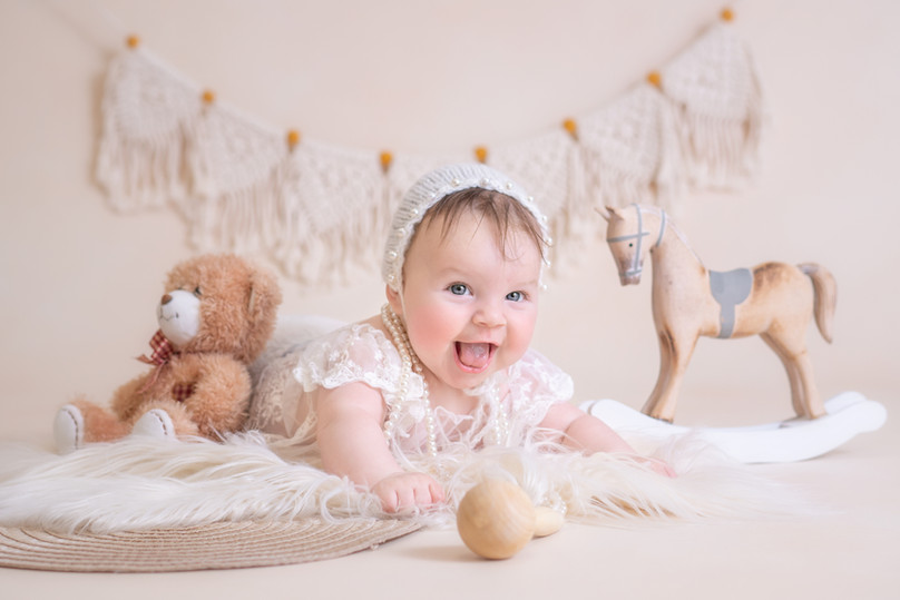 Milenstein 3 monate altes Baby