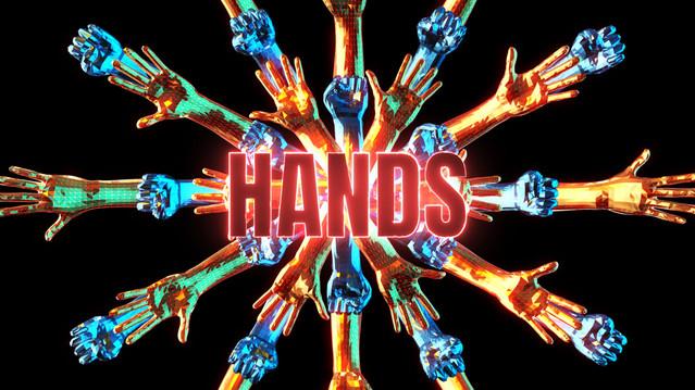 Hands   VJ Pack   4K