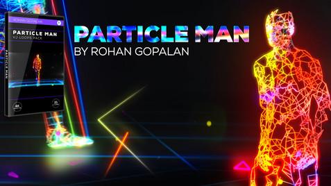 Particle Man | VJ Pack | 4K