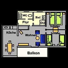 Ferinwohnung Balkon Herrsching