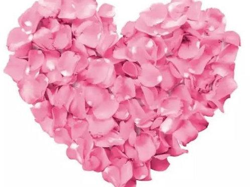 Blütenherz pink
