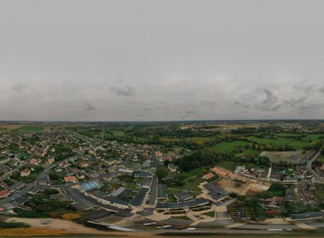 Saint Maur Indre Photo aérienne 360°