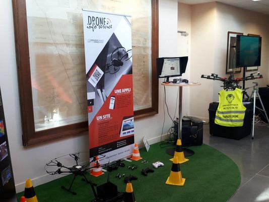 CCI Journée du numérique et Aérotech-Système Drone