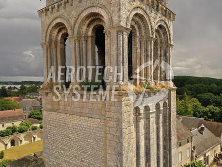 Modélisation et impression 3D de l'Abbaye de Déols.