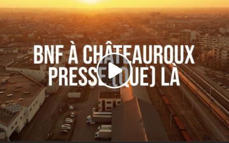 BNF à Châteauroux.