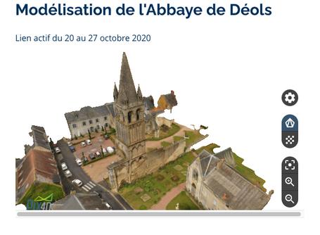 Modélisation de l'Abbaye de Déols