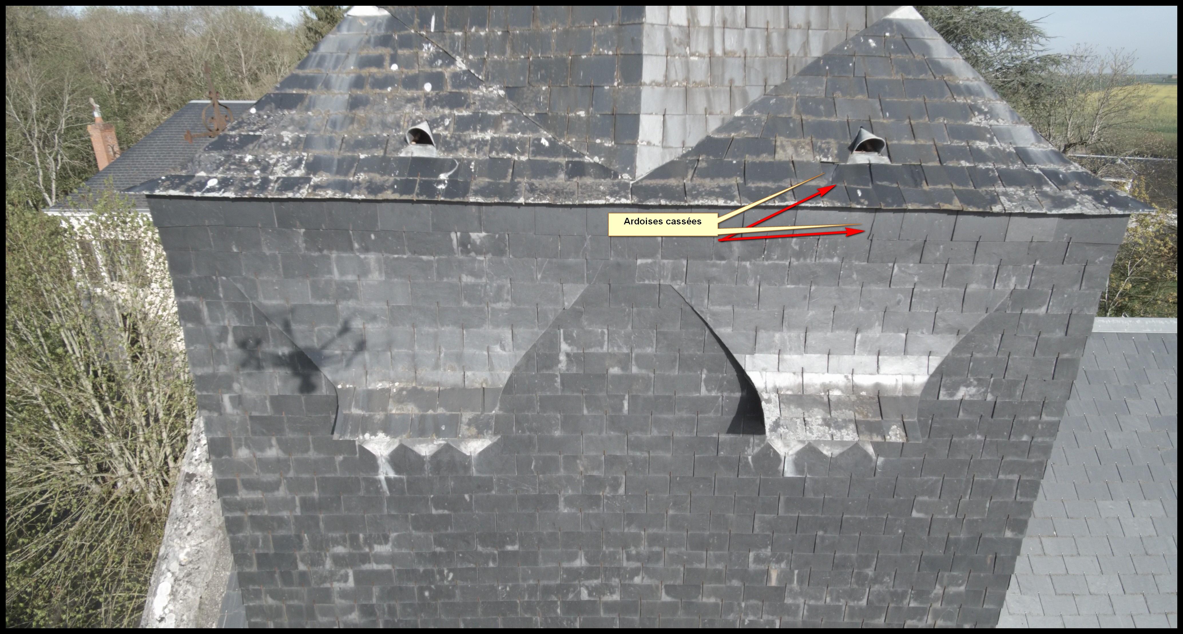 Audit de toiture grande hauteur