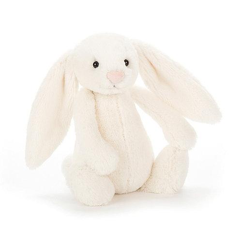 Cream Bashful Bunny by Jellycat Small 18cm