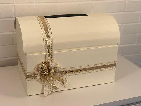Gold Wedding Post Box