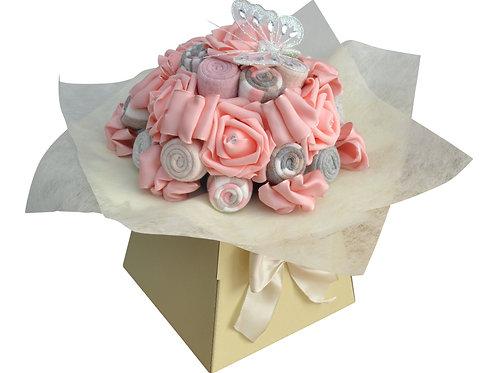 Ladies Peach Sock Bouquet