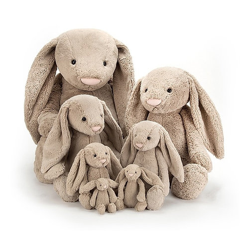 Beige Bashful Bunny by Jellycat