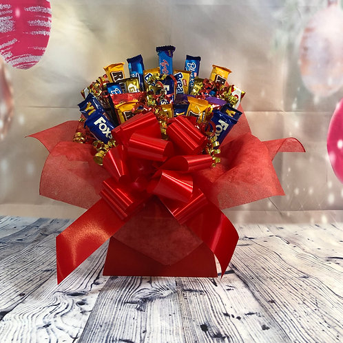 Assorted Chocolate Biscuits Bouquet