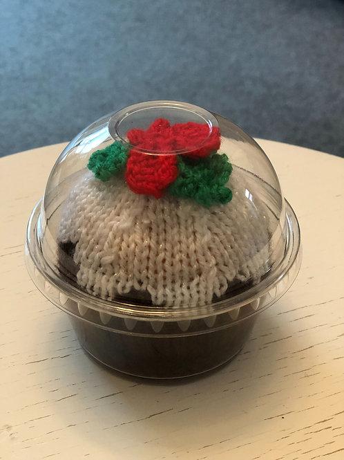 Knitted Christmas Pudding Chocolate Orange