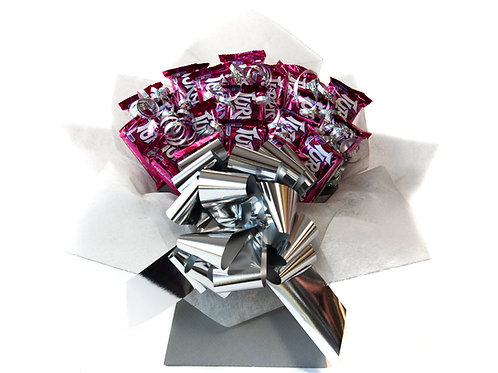 Frys Turkish Delight Silver Chocolate Bouquet