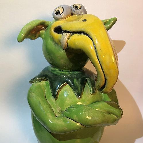 Keramik-Dabb, 20.5 cm