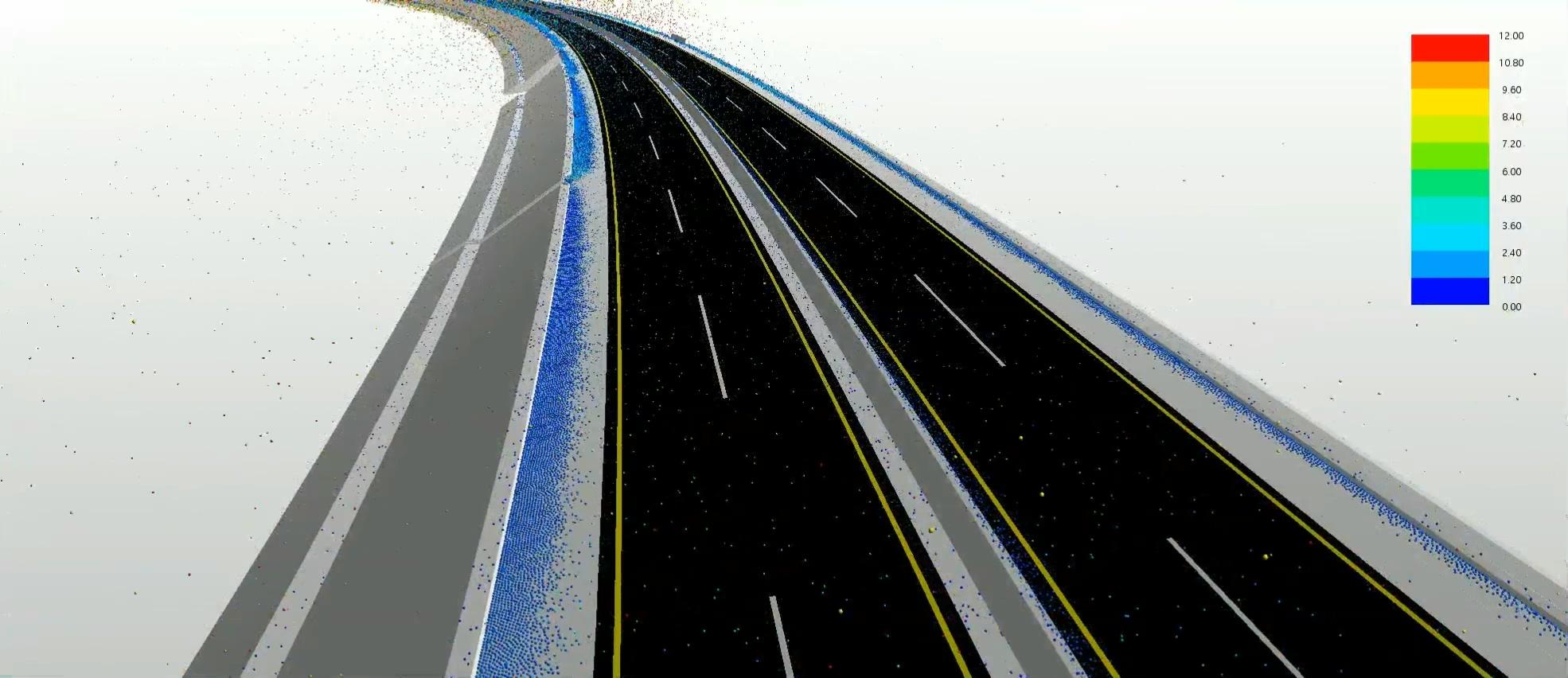 nflowcivil cfd 새만금-전주고속도로01