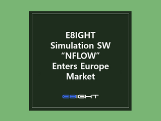 E8IGHT enters the home of Simulation SW, Europe