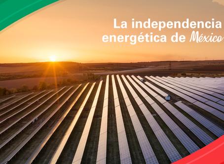 La independencia energética de México