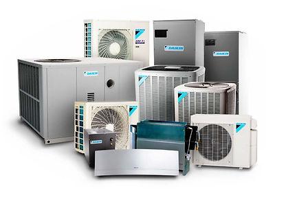 Daikin HVAC units line