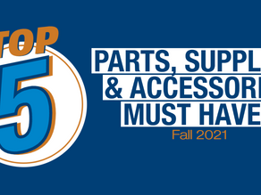 Top 5 Parts, Supplies & Accessories Must Haves Fall 2021