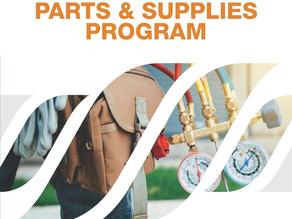Shopping our Spring Parts & Supplies Program catalog makes good sense