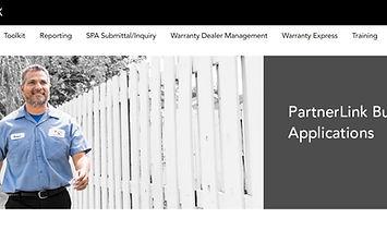 Screen capture of Daikin City website