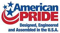 American Pride - Designed, Engieered and Assembed in the U.S.A.