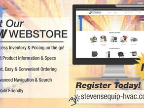 NEW Stevens Webstore is LIVE!