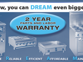 Same GREAT Equipment, BETTER Warranty!