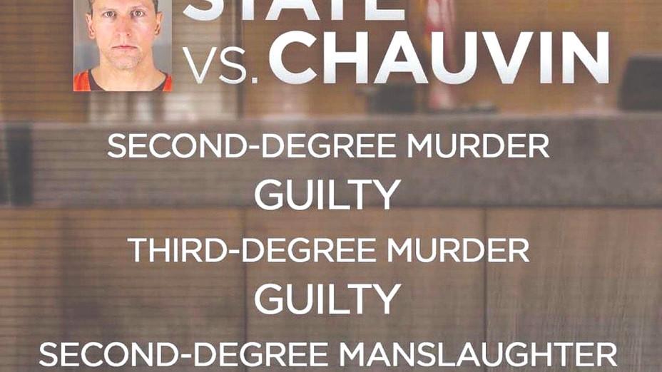 The Verdict Derek Chauvin found guilty.